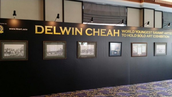 DELWIN CHEAH Art Exhibition at the 10th Anniversary of the BrandLaureate